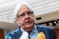 El enviado de la ONU para Yemen, Martin Griffiths