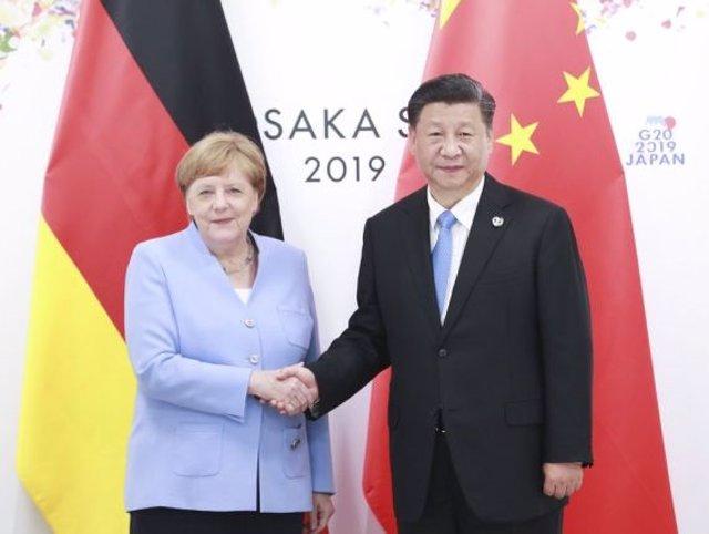 Coronavirus.- Xi traslada a Merkel la disposición de China a mejorar la coordina