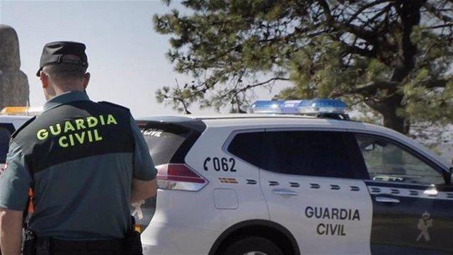 Image de archivo de un agente de la Guardia Civil
