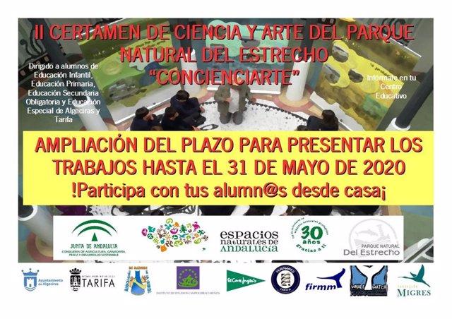 Cádiz.- La Junta amplía el plazo para presentarse al concurso 'Concienciarte' de