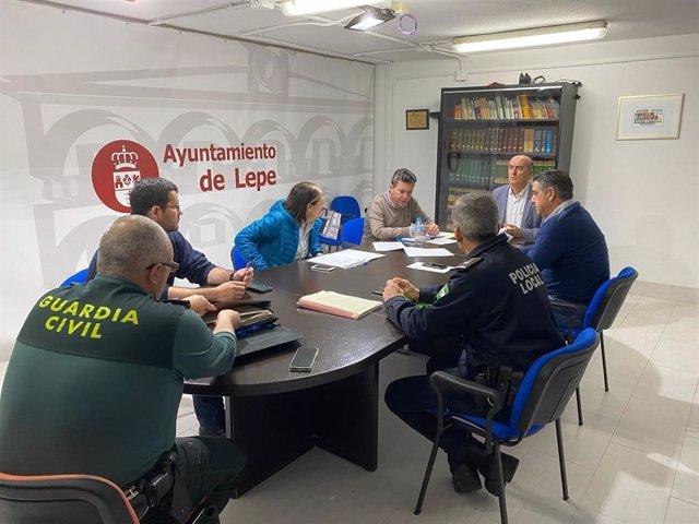 Comité asesor del Plan Municipal de Emergencia de Lepe.