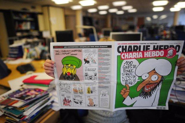 Recurso de la portada de Mahoma de 'Charlie Hebdo'