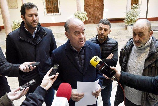 Alcalde de Antequera, Manuel Barón, en una imagen de archivo