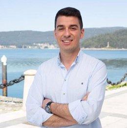 El concejal de Marín Pablo Novas (PPdeG), uno de los gallegos que ya han recibido el alta hospitalaria tras sufrir el contagio por coronavirus