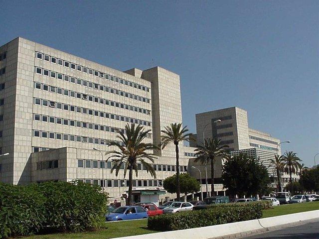 Hospital Materno Infantil de Málaga en una imagen de archivo