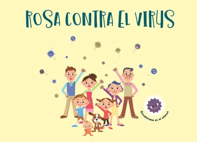 Rosa contra el coronavirus, el cuento para explicar el coronavirus a los más pequeños