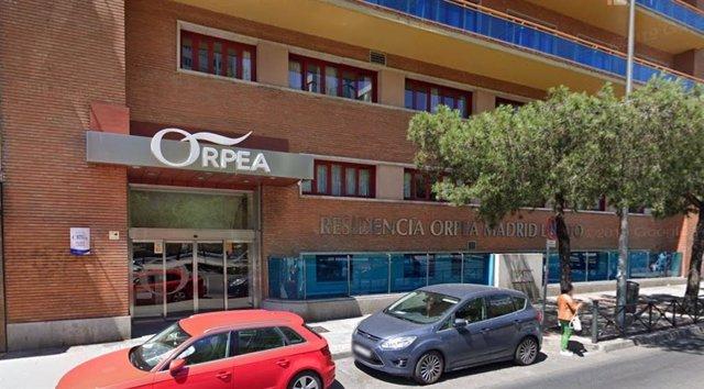 Imagen de la residencia Orpea Loreto, en la calle Reina Victoria de Madrid.
