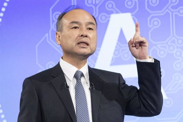 09 May 2019, Japan, Tokyo: Masayoshi Son founder and CEO of SoftBank Group speaks during a news conference to announce company's financial results for the fiscal year. Photo: Rodrigo Reyes Marin/ZUMA Wire/dpa