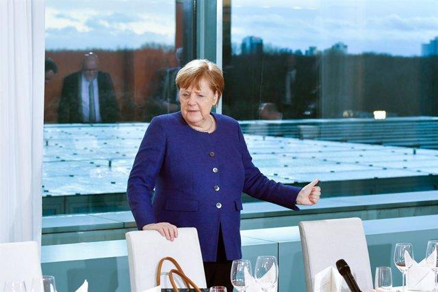 Coronavirus.- Merkel da negativo en la segunda prueba diagnóstica por coronaviru