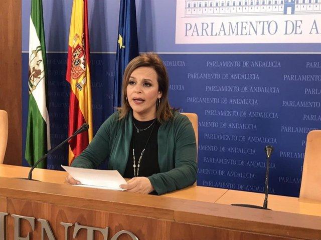 La parlamentaria de Adelante Andalucía María Gracia González.