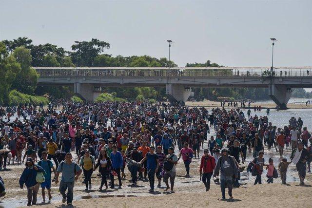 Coronavirus.- México suspende la tramitación de las peticiones de asilo por el c