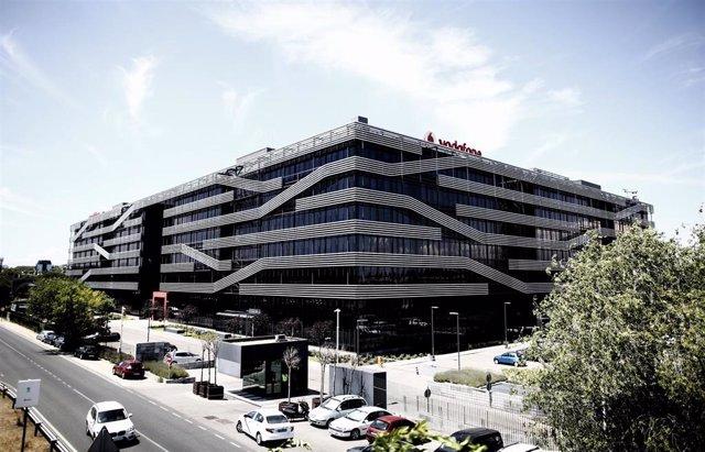Sede de Vodafone en Madrid situada en Madrid