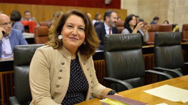 La consejera de Agricultura, Ganadería, Pesca y Desarrollo Sostenible, Carmen Crespo, en una imagen de archivo.