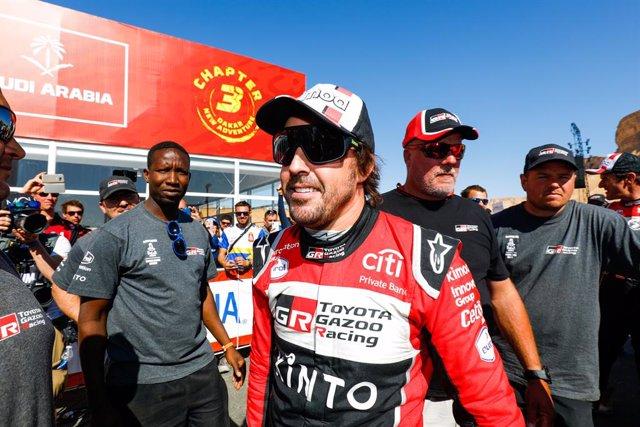 "Motor.- Fernando Alonso: ""Creo que vamos a estar muchas semanas así, no será cos"
