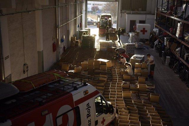 Cruz Roja Inicia La Distribución De Lotes Alimentarios Para Infancia Coronavirus