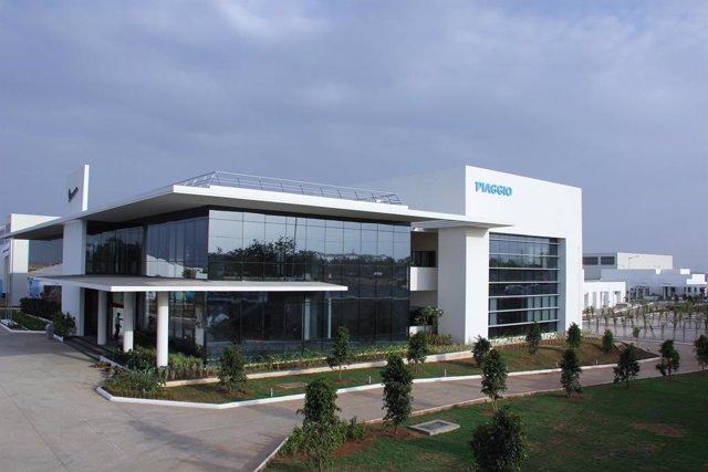 Imagen de una planta de Piaggio.