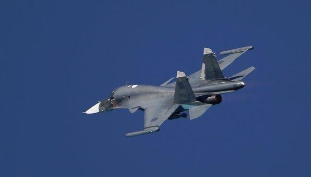 Rusia.- Un caza ruso se estrella en el mar Negro
