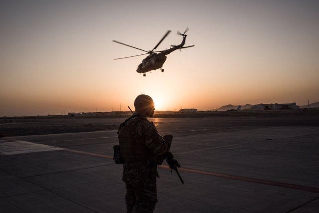 Militar estadounidense en Afganistán