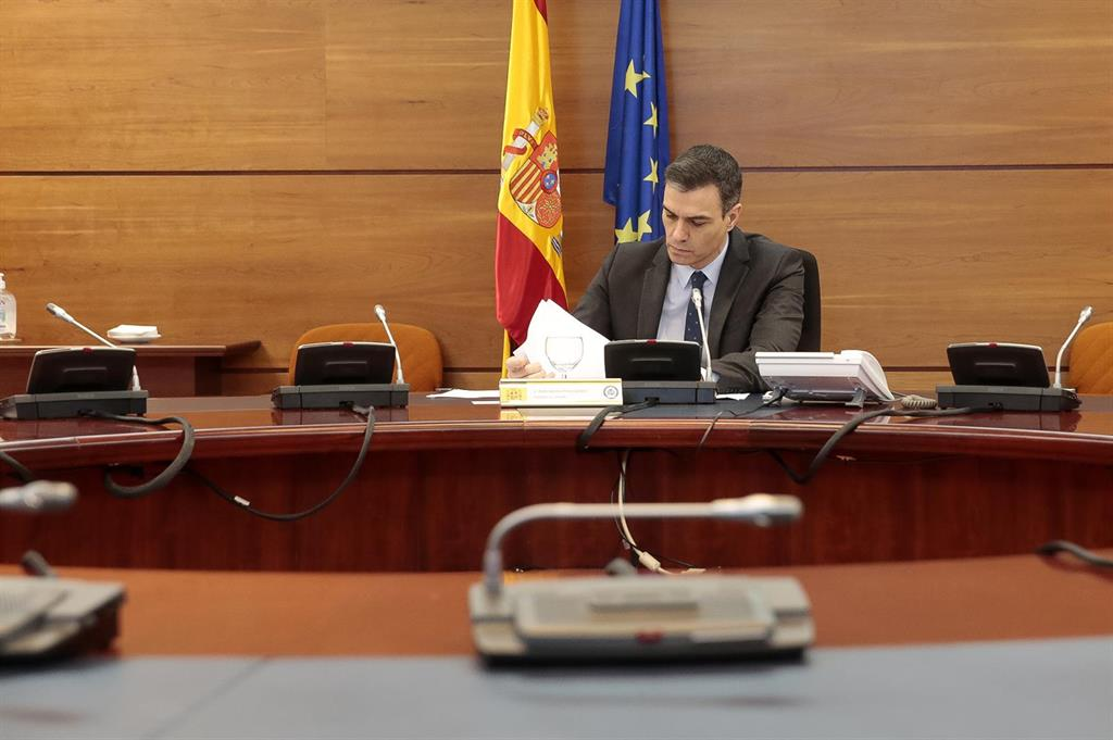 Sánchez defiende su gestión ante el coronavirus: No hay una sola hora en que el Gobierno no haya actuado