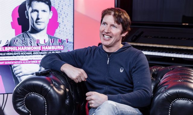 11 March 2020, Hamburg: English singer-songwriter James Blunt