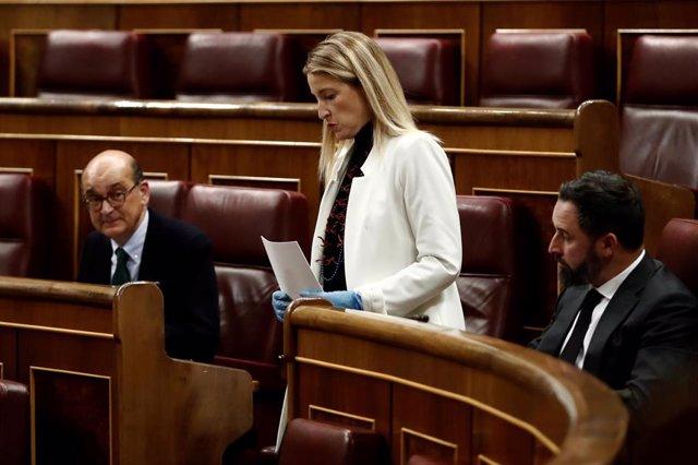 La diputada de Ciudadanos María Muñoz.