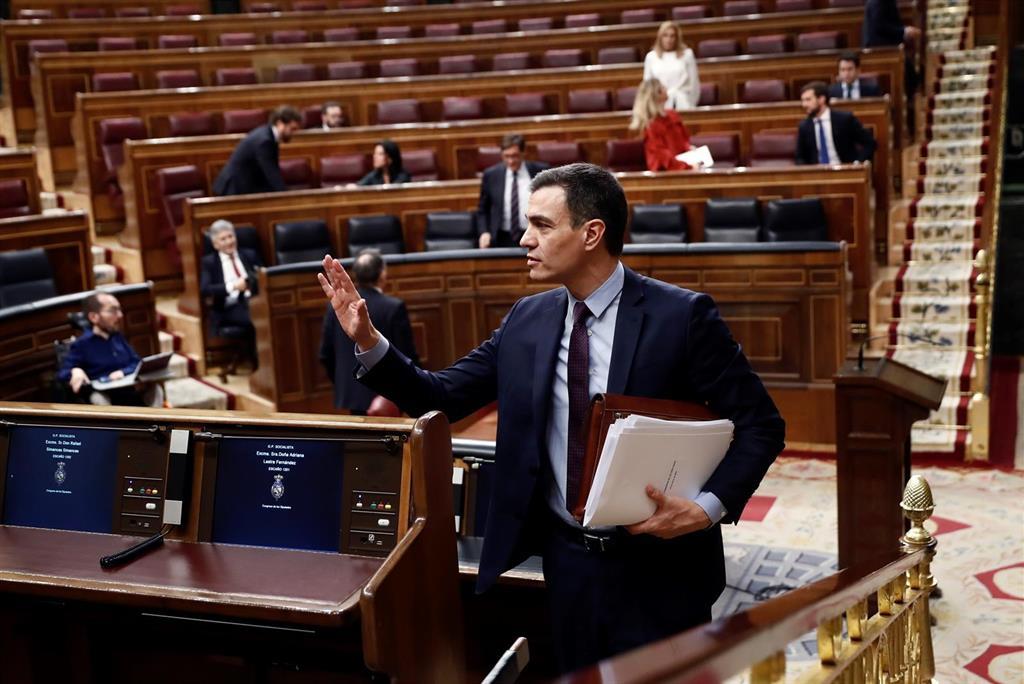 El Congreso avala la prórroga del estado de alarma sin apoyo de partidos independentistas
