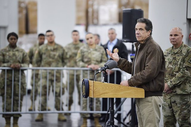 Coronavirus.- El gobernador de Nueva York cree que el programa de estímulos econ