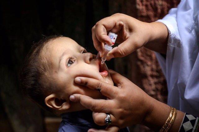 Vacunación contra la polio en Pakistán