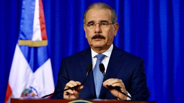 El presidente de República Dominicana, Danilo Medina