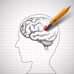 Cerebro Alzheimer demencia