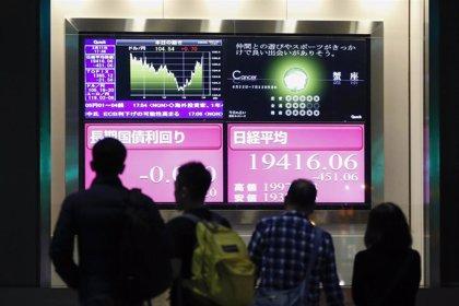 La Bolsa de Tokio pierde casi un 5% al cierre ante el temor de un repunte de Covid-19