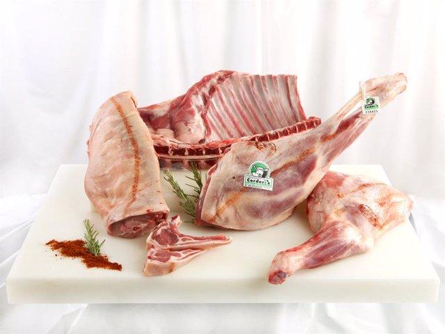 Corderex dona 200 kilos de carne de cordero certificada a varios hospitales extr