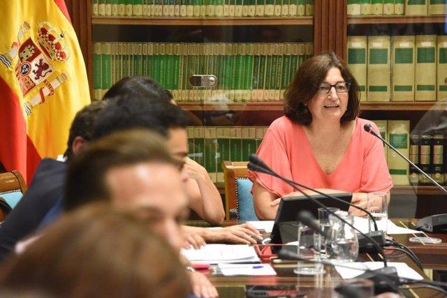 La consejera de Educación del Gobierno de Canarias, María José Guerra