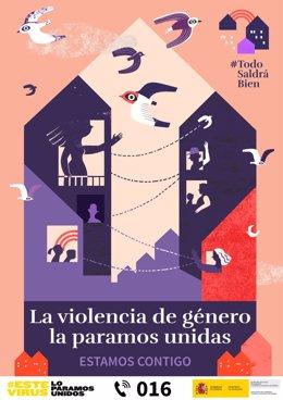 Coronavirus.- Igualdad lanza una campaña para proteger a víctimas de violencia