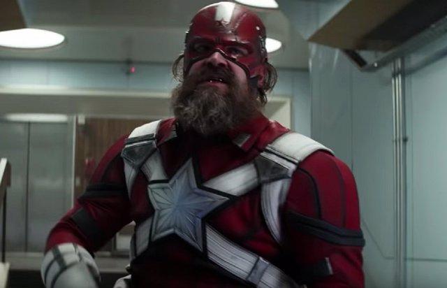 Red Guardian en la película de Black Widow