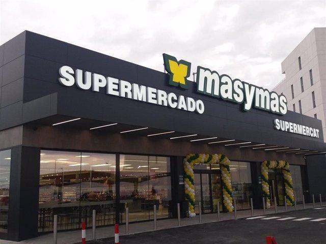 Supermercado Masymas en Paterna