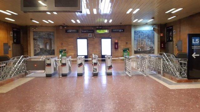 L'estació de la L5 del Metre de Barcelona