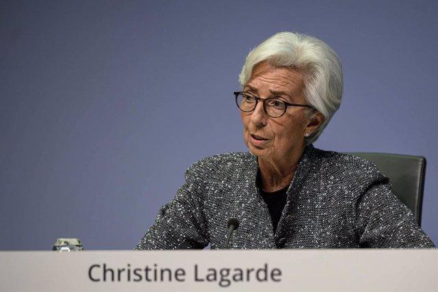 Conferència del Banc Central Europeu a Frankfurt.