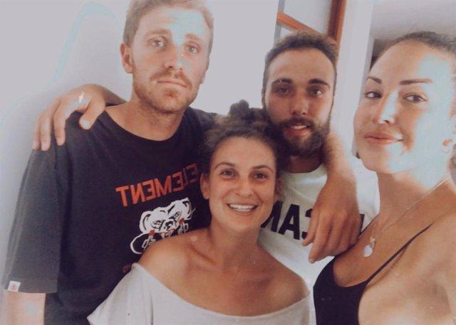 Huelva.- Coronavirus.- Regresan a España los cuatro jóvenes onubenses que estaba