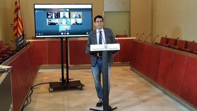 El alcalde de Igualada, Marc Castells, en una imagen de archivo.