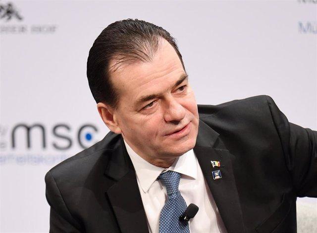 El primer ministro de Rumanía, Ludovic Orban