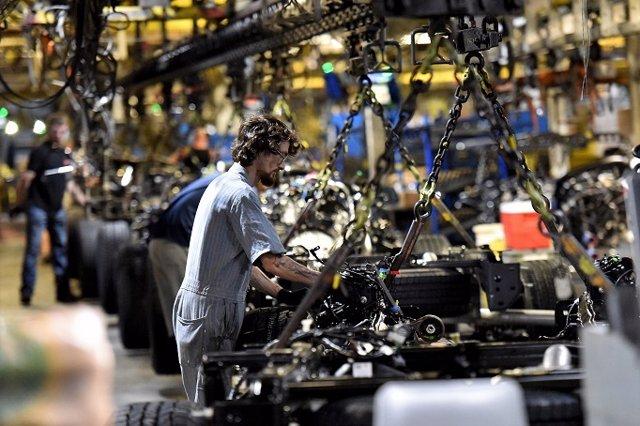Imagen de una factoría de Ford.