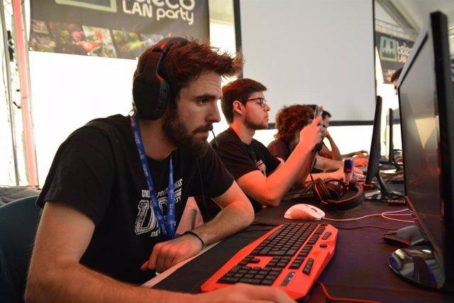 Imagen de la edición anterior de la Teleco LAN Party