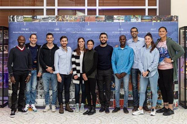 Los miembros de la Comisión de Atletas de World Athletics