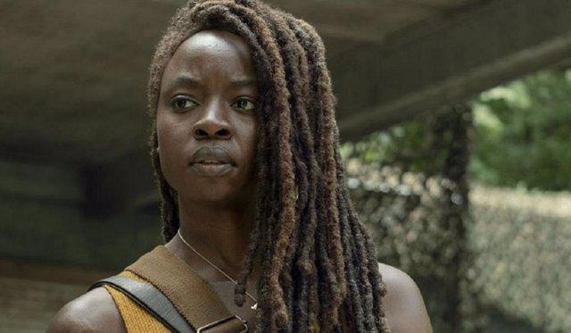 Danai Gurira (Michonne) en The Walking Dead
