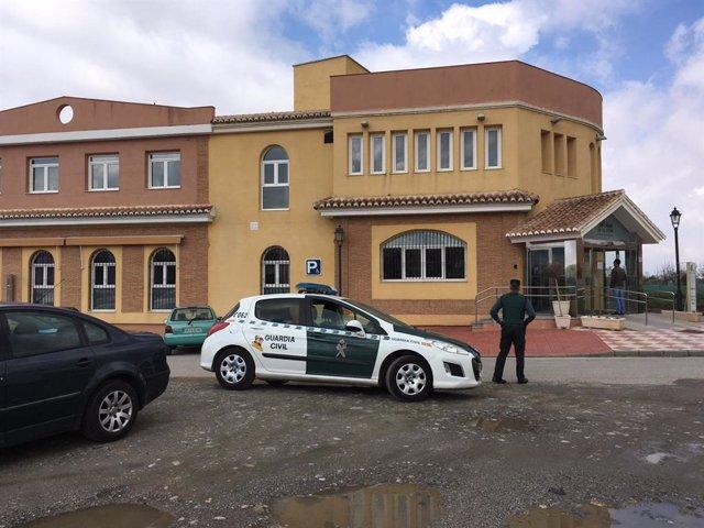 Residencia de mayores en Cájar (Granada) donde se han registrado casos de fallecidos por coronavirus