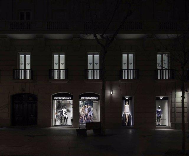 Tienda Armani en Madrid