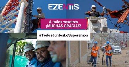 Ezentis colabora con Telefónica en el despliegue de red en hoteles medicalizados de Madrid