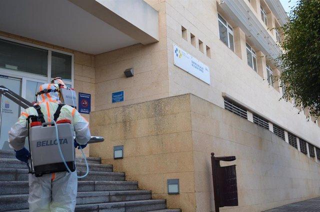 Desinfección en Las Palmas de Gran Canaria