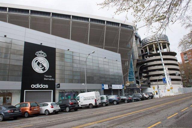 Fútbol.- El Santiago Bernabéu funcionará como centro de aprovisionamiento y dist